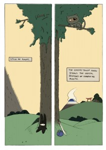 Ninja Bunny and the Broken World, page 2