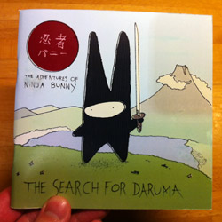 Ninja Bunny Book 4: The Search for Daruma, cover
